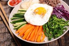 Bibimbap,korean food Royalty Free Stock Photography