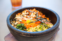 Bibimbap Stock Photo