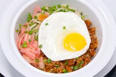Bibimbap spicy vegetables Stock Photos