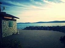 Bibinje, Croazia Fotografia Stock