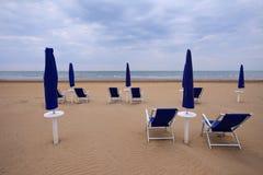 bibione пляжа Стоковые Изображения