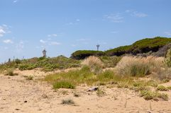 Bibione Lighthouse in Italy royalty free stock image