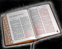 Bible Aglow stock photography