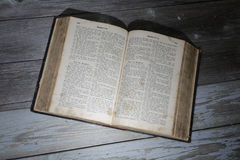 Bible allemande Photo stock
