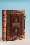 Bible antique Photographie stock libre de droits