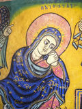 Bible Art in Ura Kidane Mihret Church Stock Photography