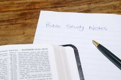 Bible With Bible Study Notes