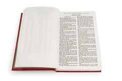Bible book isolated Royalty Free Stock Images