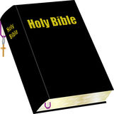 Bible and Bookmark Stock Images