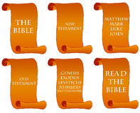 Bible books Stock Image