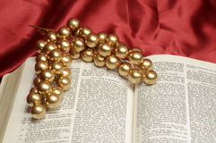 Bible Christmas passage Royalty Free Stock Photo