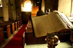 Bible in church A Royalty Free Stock Photos