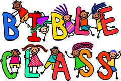 Bible Class Kids Stock Image