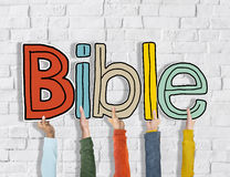 Bible Concepts on Brick Wall Royalty Free Stock Photo