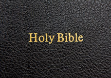 Bible cover Royalty Free Stock Image