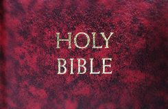 Bible Cover Macro Stock Photos