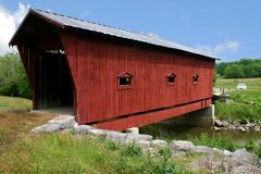 Bible Covered Bridge Royalty Free Stock Images