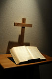 Bible and Cross Stock Photos
