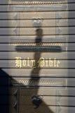 Bible and Cross Stock Image
