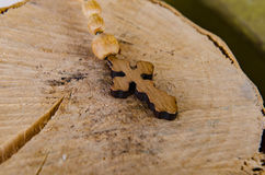 The bible and cross in religious concept Royalty Free Stock Photography