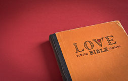 Bible d'amour Photographie stock libre de droits
