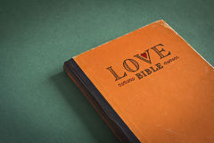 Bible d'amour Image stock