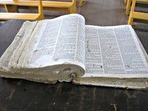 Bible de chapelle Photos stock