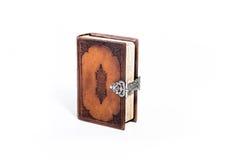Bible de cuir de Brown Image stock
