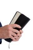 Bible de fixation de missionnaire image libre de droits