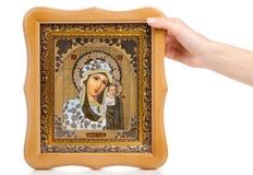Bible de foi d'icônes à disposition image libre de droits