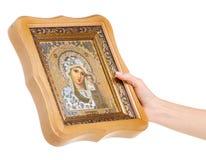 Bible de foi d'icônes à disposition image stock