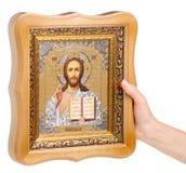 Bible de foi d'icônes à disposition images libres de droits
