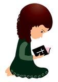 Bible de lecture illustration libre de droits