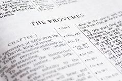 Bible detail Royalty Free Stock Image