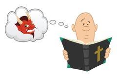 Bible Devil Stock Images