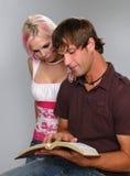 Bible du relevé de couples Images libres de droits