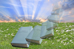 The bible...a gift from god! Royalty Free Stock Photos