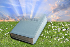 The bible...a gift from god! Stock Photos