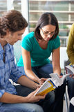 Bible Group Reading Together Royalty Free Stock Photos