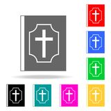 Bible icon. Elements of religion multi colored icons. Premium quality graphic design icon. Simple icon for websites, web design, m. Obile app, info graphics on royalty free illustration