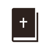 Bible icon Stock Photography