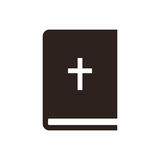 Bible icon Royalty Free Stock Images