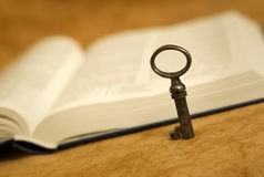 Bible - key for life Stock Photo