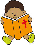 Bible Kid Royalty Free Stock Images