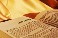 The Bible and knowledge Stock Images