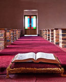 Bible lying on a pillow Royalty Free Stock Image