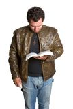 Bible Man Royalty Free Stock Image