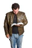 Bible Man Royalty Free Stock Image