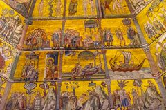 Bible Mosaic Dome Bapistry Saint John Florence Italy