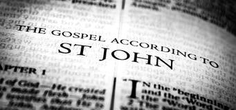 Free Bible New Testament Christian Gospel Of St John Saint Royalty Free Stock Photo - 215606385